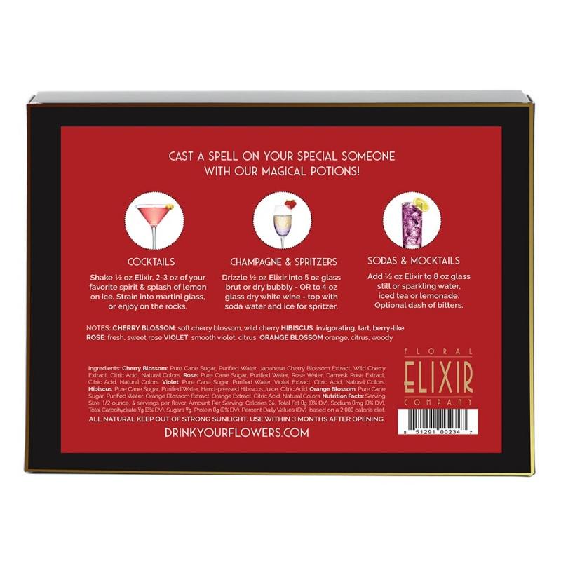 Floral Elixir Co. Love Potions Cocktail Kit (5) 2 Fl. Oz. Bottles