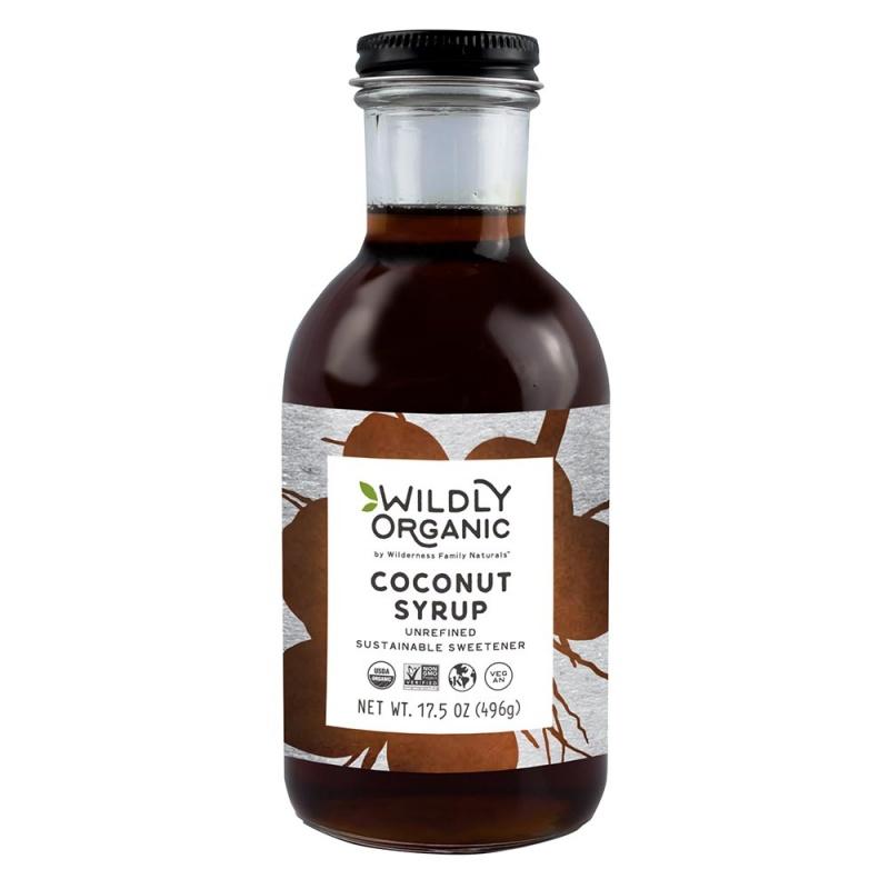 Wildly Organic Coconut Syrup 17.5 Fl. Oz