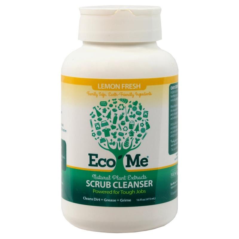 Eco-me Lemon Fresh Scrub Cleanser 16 Oz.