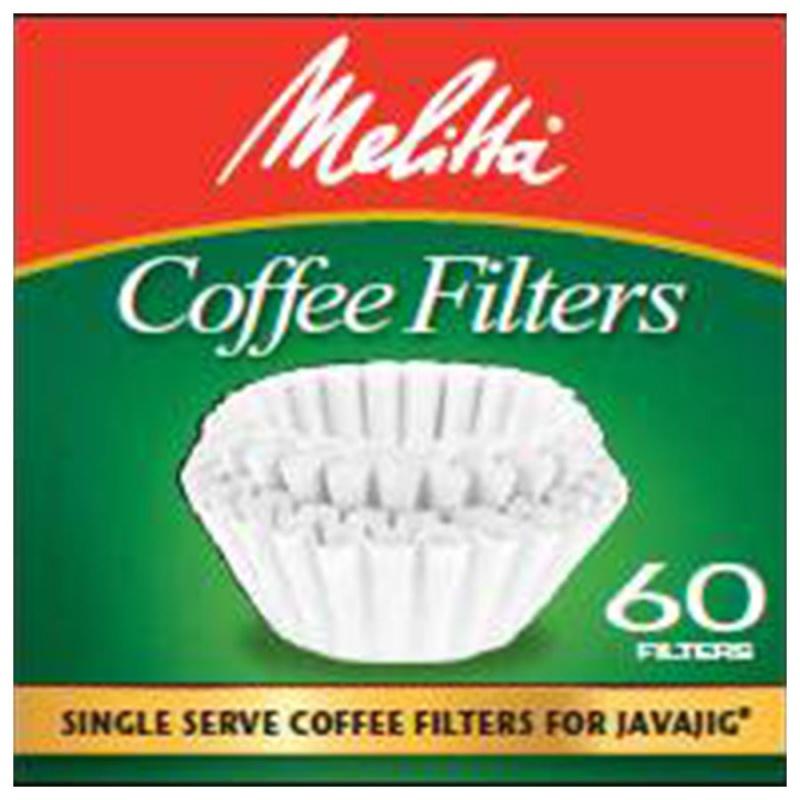 Melitta Single Serve Coffee Filters For Javajig Single Serve