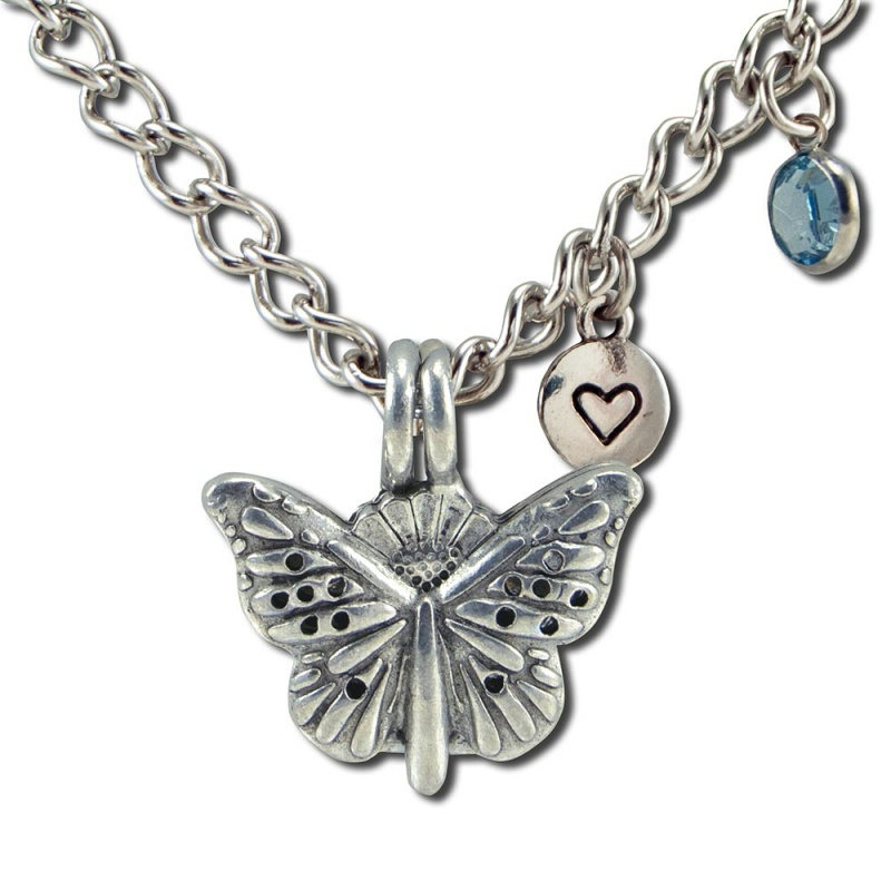 Butterfly Diffuser Bracelet 7.5 Chain