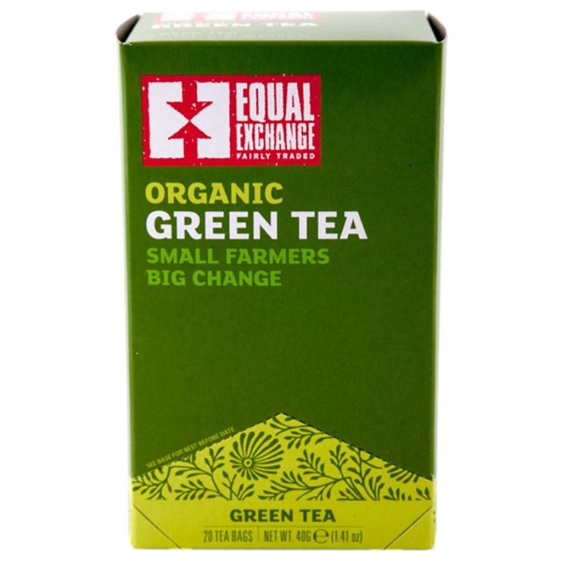 Equal Exchange Organic Green Tea 20 Tea Bags