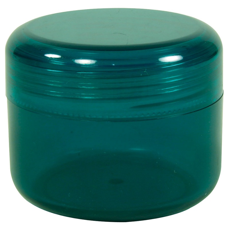 Emerald Green Container With Domed Lid 2 Oz.