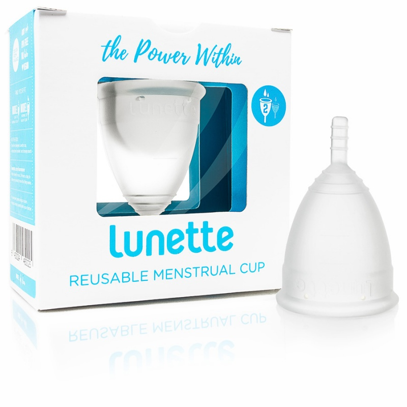 Lunette Clear Size 2 Menstrual Cup 2