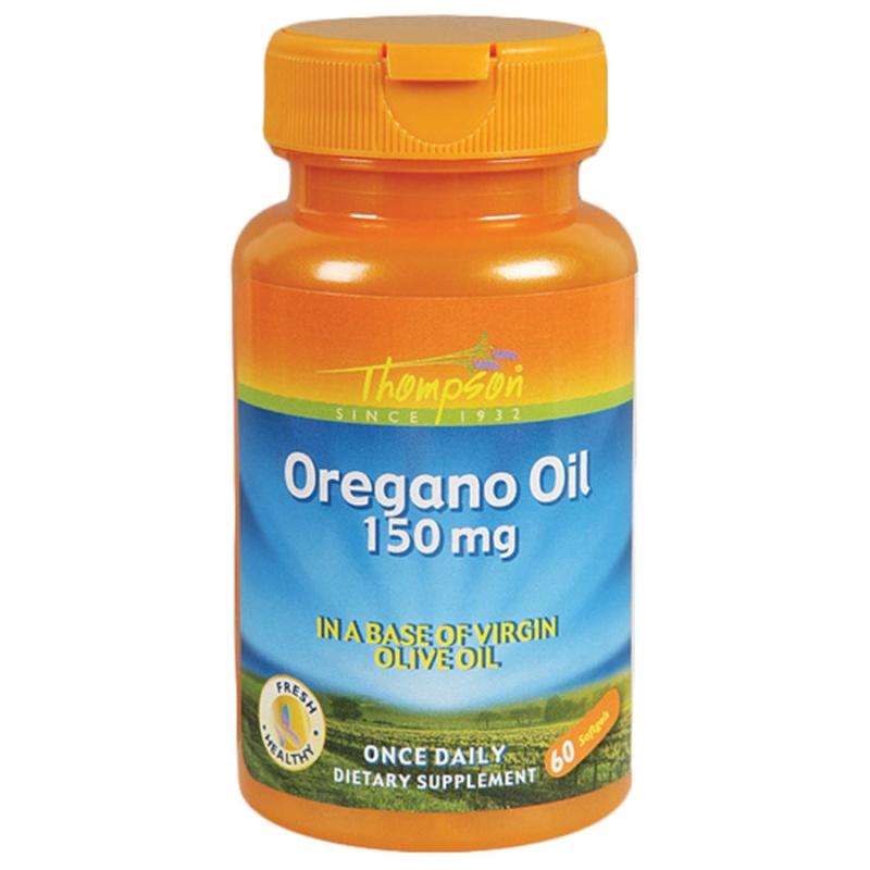 Thompson Oregano Oil 60 Softgels