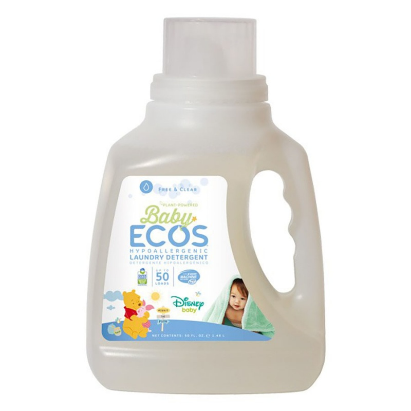 Earth Friendly Products Baby Ecos Free & Clear Laundry Liquid 50 Fl. Oz.