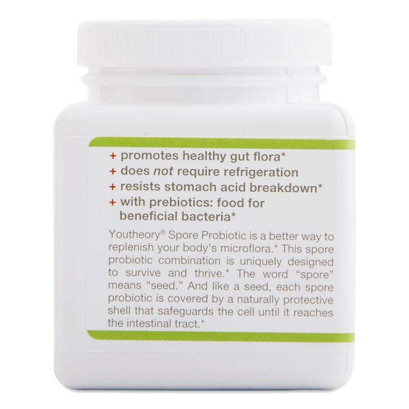Youtheory Spore Probiotic Powder Advanced 3.45 Oz