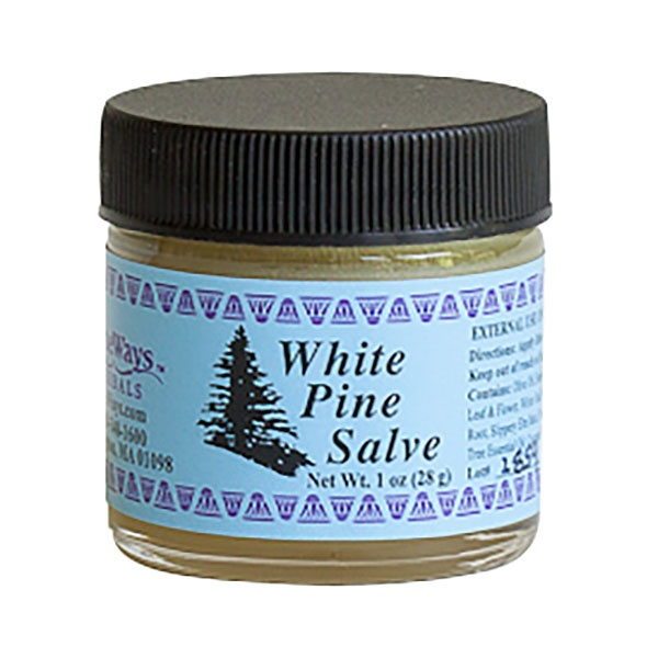 Wiseways Herbals White Pine Salve 1 Oz.