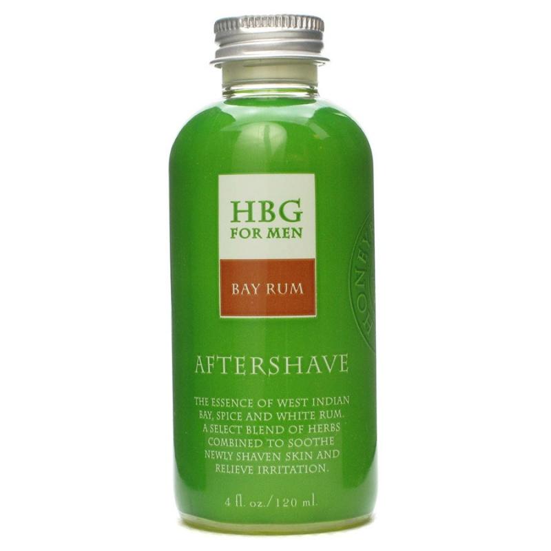 Honeybee Gardens Bay Rum Scented Herbal Aftershave 4 Fl. Oz.