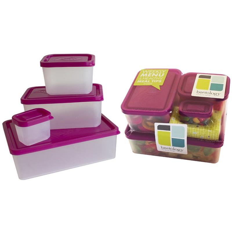 Bentology Beach 4 Container Box Set