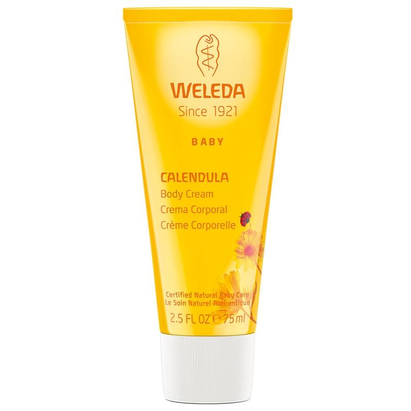 Weleda Nourishing Calendula Body Cream For Babies 2.5 Fl. Oz.