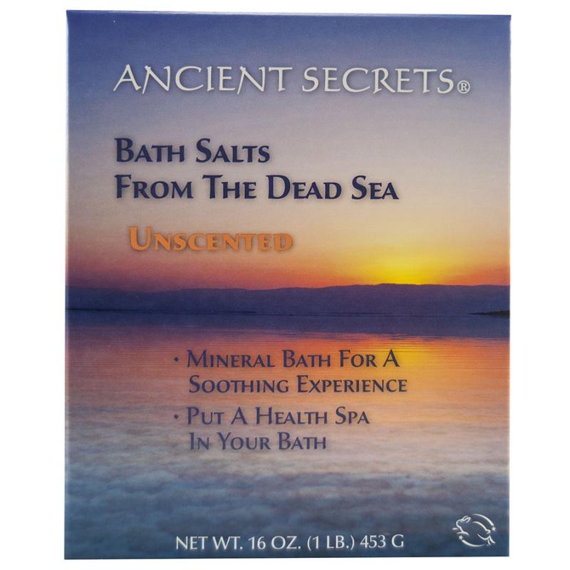 Ancient Secrets Unscented Mineral Bath 1 Lb