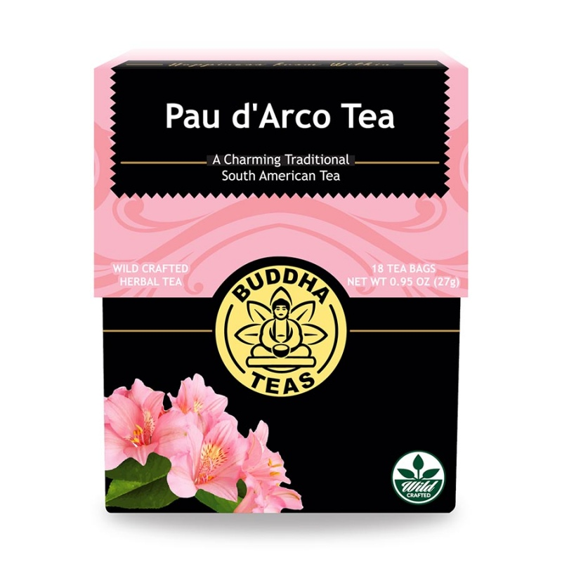 Buddha Teas Organic Pau D' Arco 18 Tea Bags
