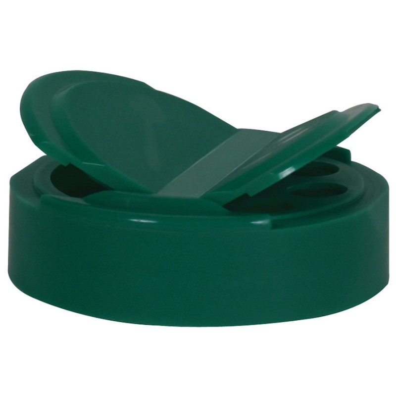 Green Pourable Lid For 1 Quart Plastic Container