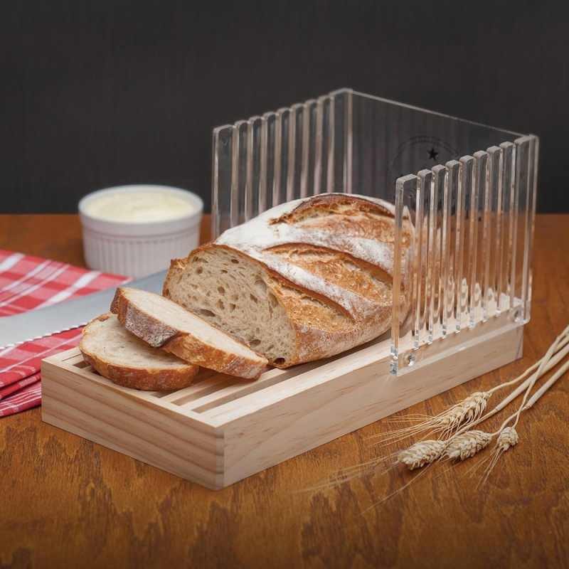 Mrs Anderson Baked Bread Slicing Guide
