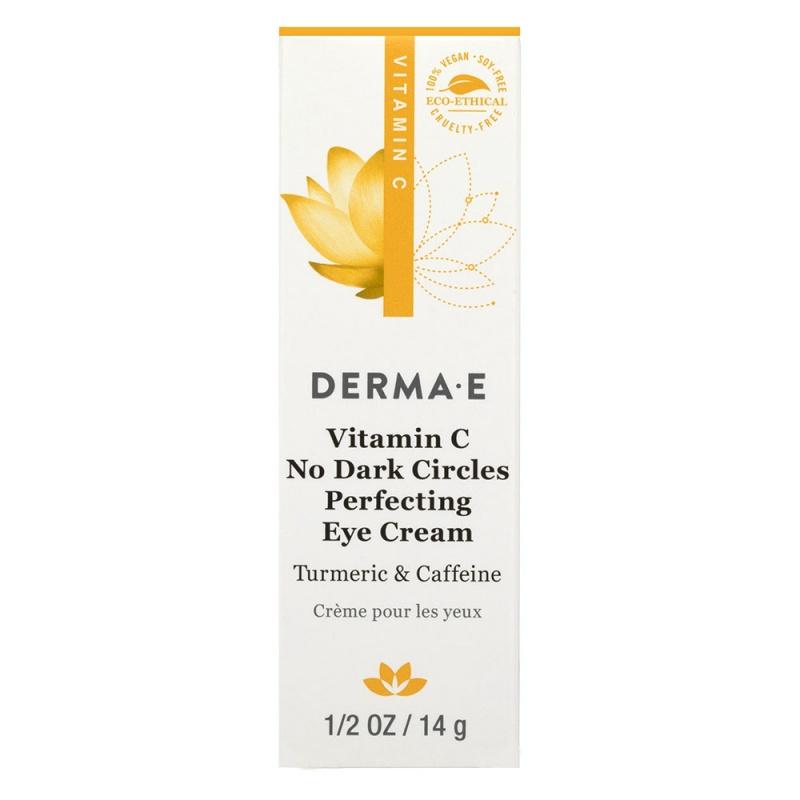 Derma E Vitamin C No Dark Circle Perfecting Eye Cream 0.5 Fl. Oz