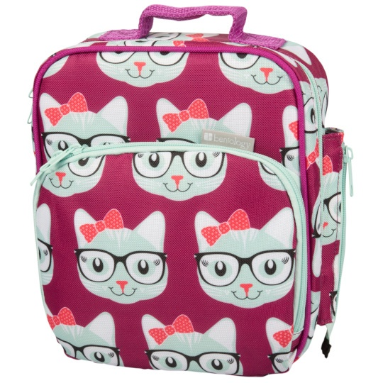 Bentology Kitty Insulated Lunch Bag 10 X 8 X 2