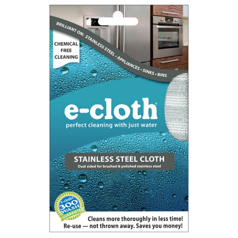 E-cloth Stainless Steel Cloth 12 1/2 X 12 1/2