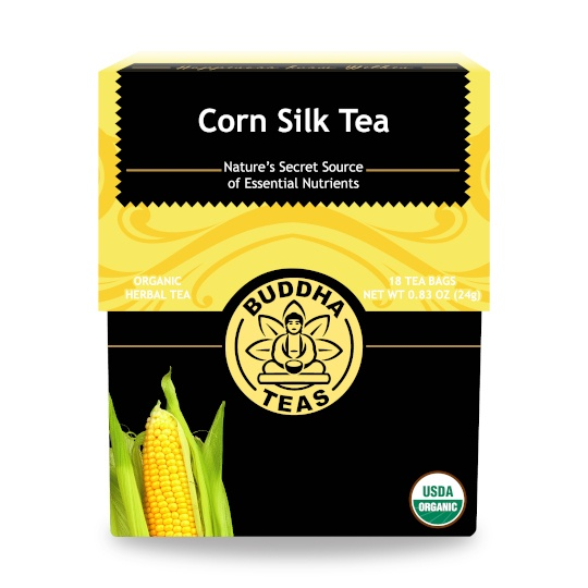 Buddha Teas Corn Silk Organic Herbal Tea 18 Tea Bags