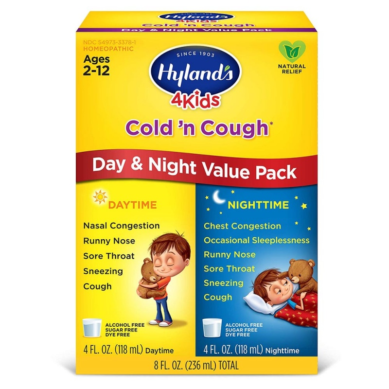 Hyland's 4 Kids Grape Cough'n Cold Day & Night Value Pack 8 Fl. Oz