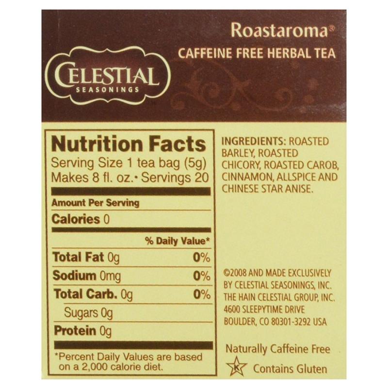 Celestial Seasonings Roastaroma Tea 20 Tea Bags