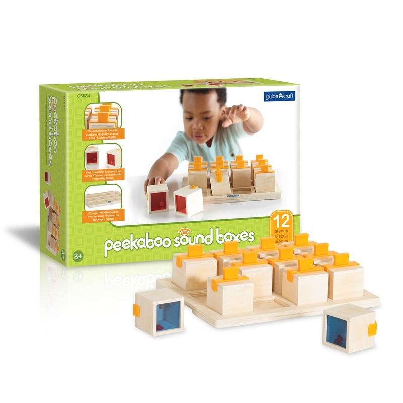 Peekaboo Sound Boxes