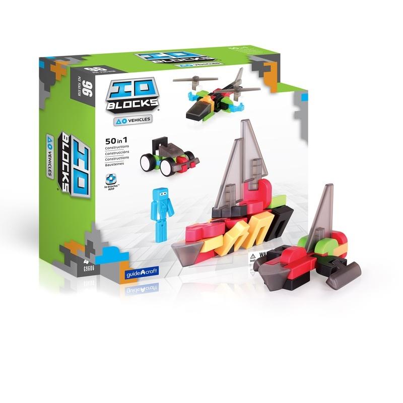 Guidecraft Io Blocks® Vehicles Set