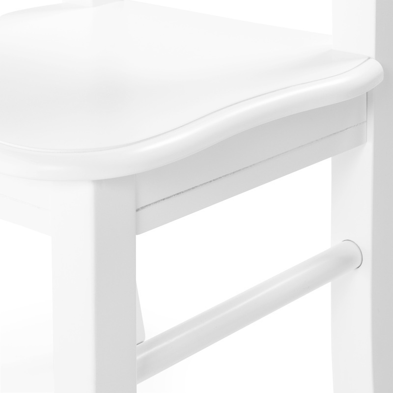 Classic White Table & Chair Set