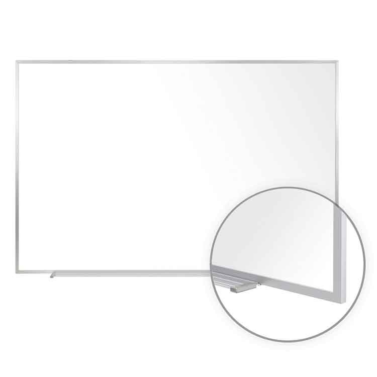 5'h Projection Porcelain Whiteboard