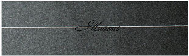 Illusions Bridal Corded Edge Veil S7-362-C: Rhinestone Accent