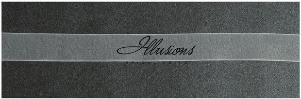 Illusions Bridal Ribbon Edge Veil S1-452-SR