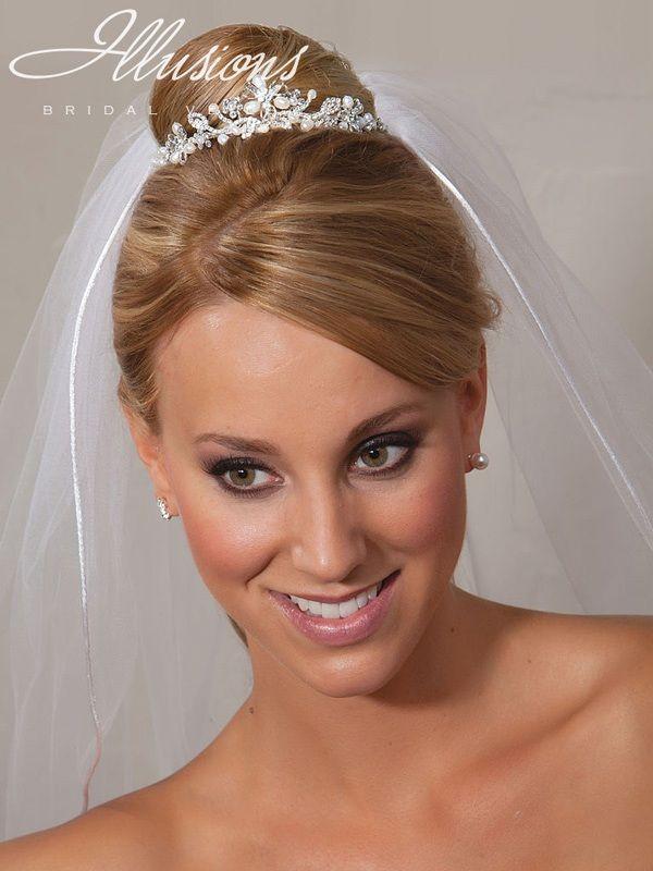 Illusions Bridal Tiara 2848: Small