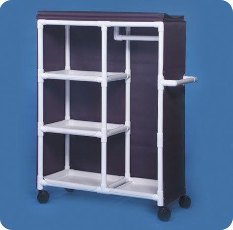 Garment Rack With Shelves