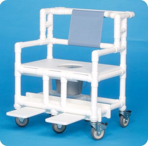 Bariatric Shower Commode Chair 700# Capacity