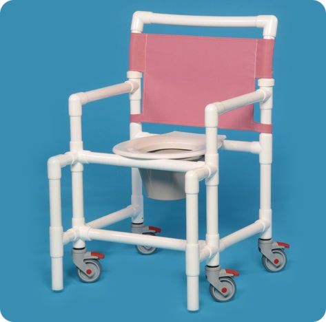 Shower Chair Commode 375# Capacity