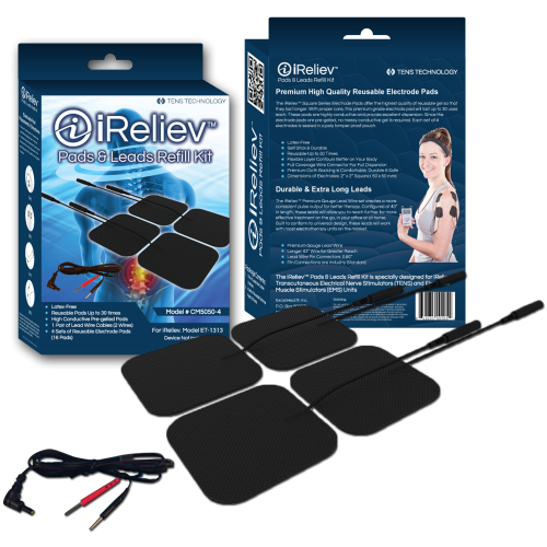 iReliev Pads & Leads Refill Kit