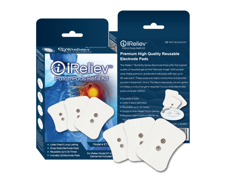 iReliev Patch Pads Refill Kit