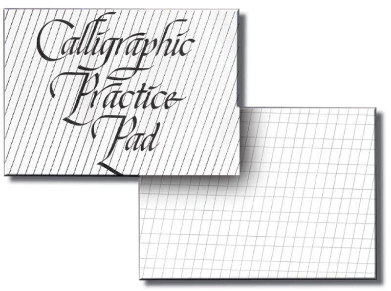 Inovart Calligraphy Practice Paper Pad - 50 Sheets