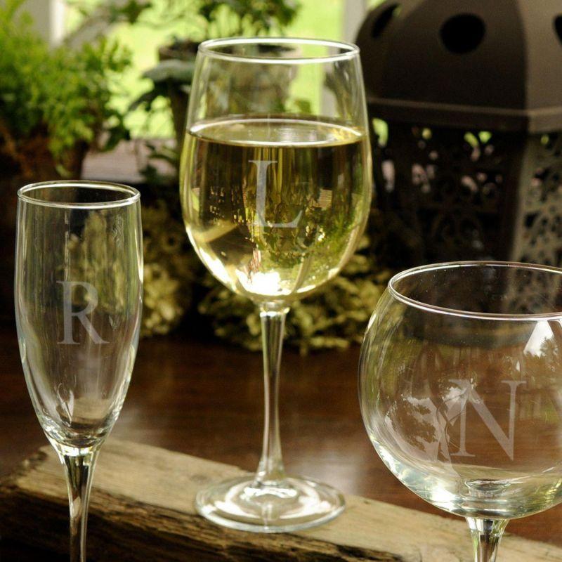 Personalized White Wine Glass - 19 Oz