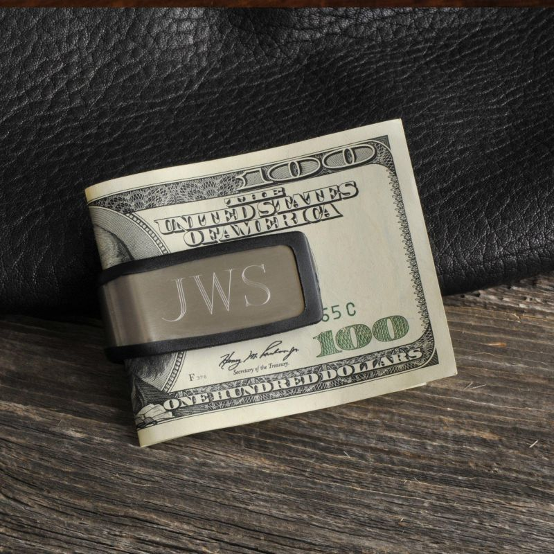 Stainless Steel Money Clip Sporty Fit