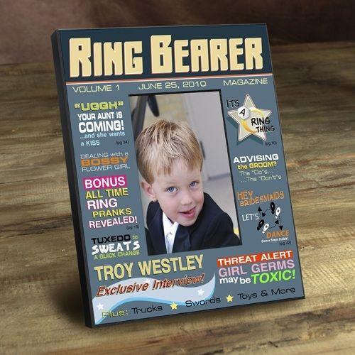 Ring Bearer Magazine Frame