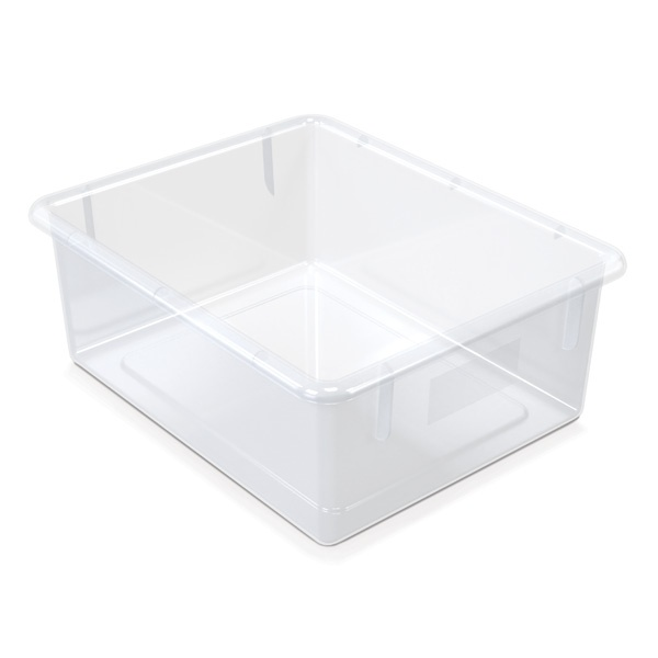 Jonti-Craft®25 Tub Mobile Storage - With Clear Tubs