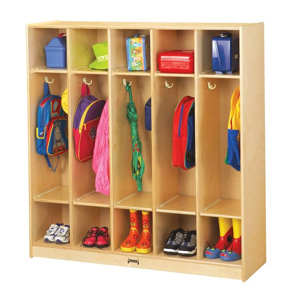 Jonti-Craft®5 Section Coat Locker