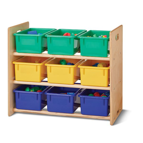Jonti-Craft®Cubbie-Tray Storage Rack - Without Cubbie-Trays