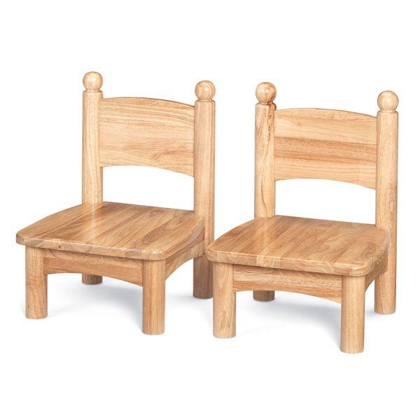 "Jonti-Craft®Wooden Chair Pairs - 7"" Seat Height"