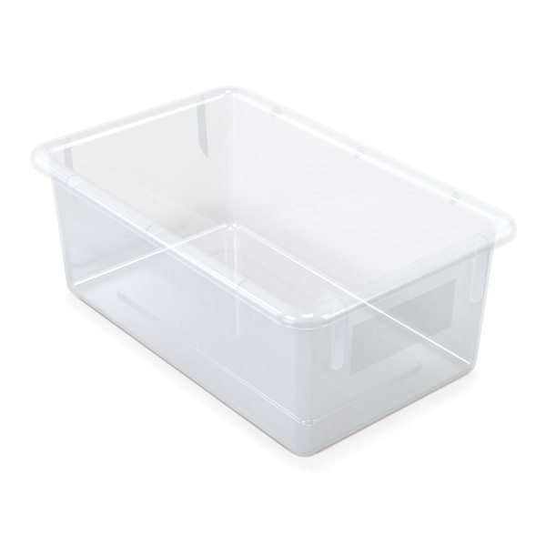 Jonti-Craft®10 Cubbie-Tray Mobile Unit - With Clear Trays