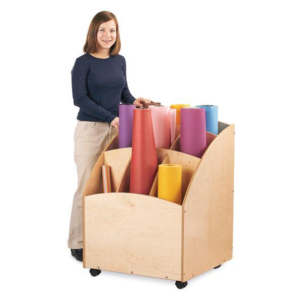 Jonti-Craft® Paper Roll Bin