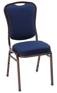 """KFI 1835 """"1830"""" Series Stack Chair with Grade 2 Fabric: 3"""" Seat, Without Arms"""