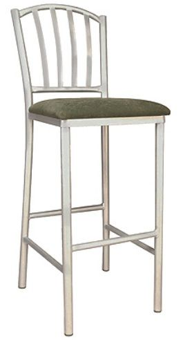 """KFI BR3732-US """"3700"""" Series Cafe Chair with Upholstered Seat: Without Arms"""