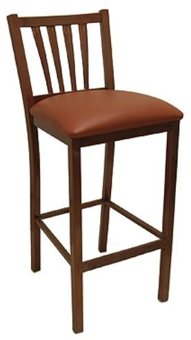 """KFI BR3904-WS """"3900"""" Series Chairs with Wood Seat: Without Arms"""